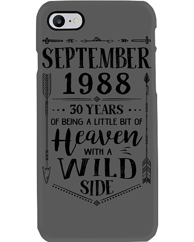 September 1988 being heaven with wild side