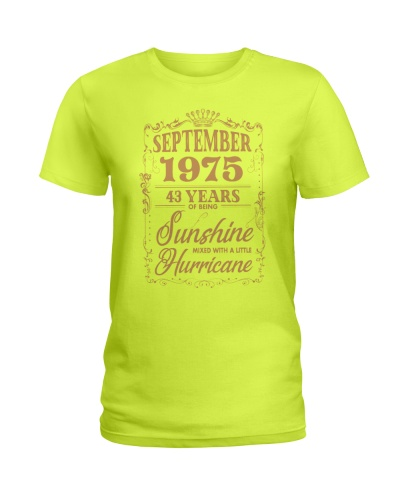 Birthday September 1975