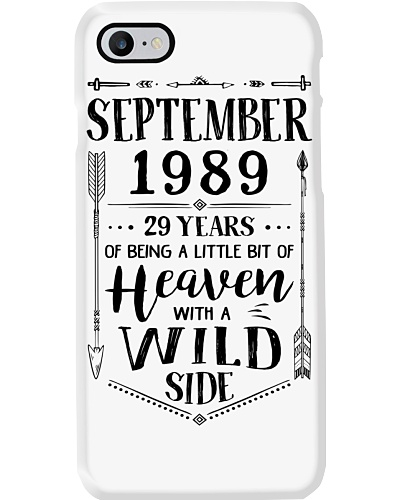 September 1989 being heaven with wild side