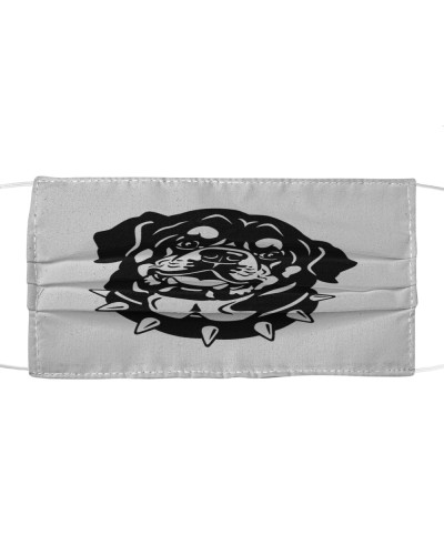 Love Rottweiler dog Cloth Mask