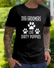 Dog Groomer  Classic T-Shirt lifestyle-mens-crewneck-front-7