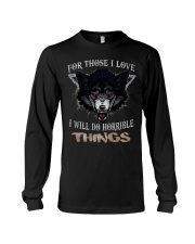 Love Wolf tee Long Sleeve Tee thumbnail