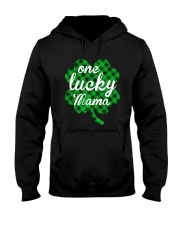 One lucky mama Hooded Sweatshirt thumbnail