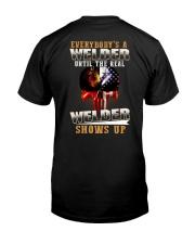 Welder Shows Up Classic T-Shirt back