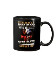 Welder Shows Up Mug thumbnail