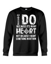 I Do tee Crewneck Sweatshirt front