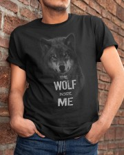 The Wolf tee Classic T-Shirt apparel-classic-tshirt-lifestyle-26