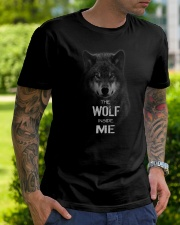 The Wolf tee Classic T-Shirt lifestyle-mens-crewneck-front-7