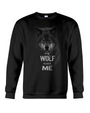 The Wolf tee Crewneck Sweatshirt thumbnail