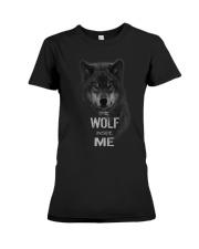 The Wolf tee Premium Fit Ladies Tee thumbnail