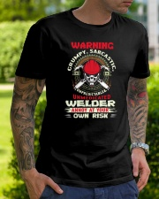 Welder annoy at your own risk  Tshirt Classic T-Shirt lifestyle-mens-crewneck-front-7