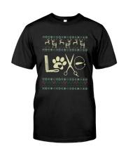 Dog Groomer xmas Premium Fit Mens Tee thumbnail