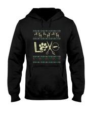 Dog Groomer xmas Hooded Sweatshirt thumbnail