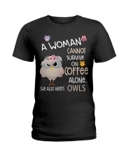 Owls tee Ladies T-Shirt front