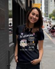 Owls tee Ladies T-Shirt lifestyle-women-crewneck-front-5