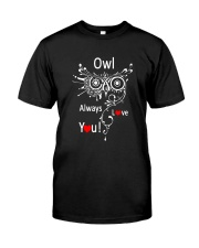 Owl Lovers gift T-Shirt Classic T-Shirt front