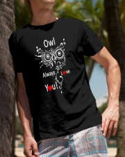 Owl Lovers gift T-Shirt Classic T-Shirt lifestyle-mens-crewneck-front-10