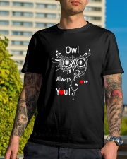 Owl Lovers gift T-Shirt Classic T-Shirt lifestyle-mens-crewneck-front-8