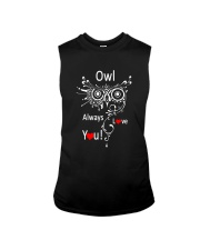 Owl Lovers gift T-Shirt Sleeveless Tee thumbnail