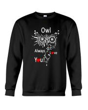 Owl Lovers gift T-Shirt Crewneck Sweatshirt thumbnail
