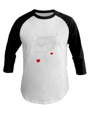 Owl Lovers gift T-Shirt Baseball Tee thumbnail