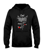 Owl Lovers gift T-Shirt Hooded Sweatshirt thumbnail