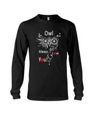 Owl Lovers gift T-Shirt Long Sleeve Tee thumbnail