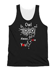 Owl Lovers gift T-Shirt All-over Unisex Tank thumbnail