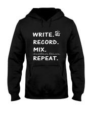 Write record mix repeat Hooded Sweatshirt thumbnail