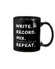 Write record mix repeat Mug thumbnail