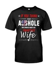 Smartass Wife  Classic T-Shirt front