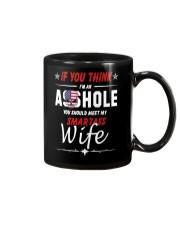 Smartass Wife  Mug thumbnail