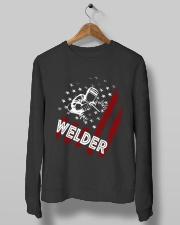 Welder Tshirt Crewneck Sweatshirt lifestyle-unisex-sweatshirt-front-10