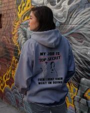 Dog Groomer Tshirt Hooded Sweatshirt lifestyle-unisex-hoodie-back-1