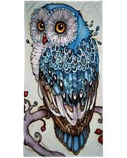 Owl art Premium Beach Towel thumbnail