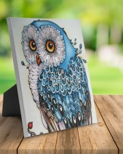 Owl art 8x10 Easel-Back Gallery Wrapped Canvas aos-easel-back-canvas-pgw-8x10-lifestyle-front-02