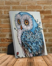 Owl art 8x10 Easel-Back Gallery Wrapped Canvas aos-easel-back-canvas-pgw-8x10-lifestyle-front-07
