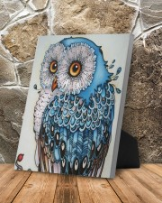 Owl art 8x10 Easel-Back Gallery Wrapped Canvas aos-easel-back-canvas-pgw-8x10-lifestyle-front-10
