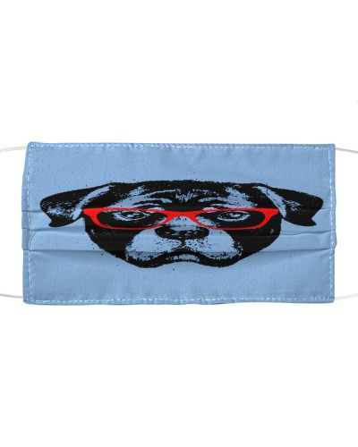Rottweiler dog Cloth Mask