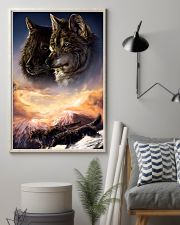 Two Wolf Art 11x17 Poster lifestyle-poster-1