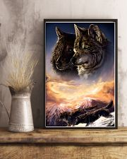 Two Wolf Art 11x17 Poster lifestyle-poster-3
