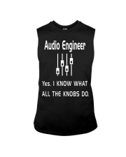 Audio Engineer all the knobs do Sleeveless Tee thumbnail