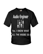Audio Engineer all the knobs do Youth T-Shirt thumbnail