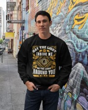 Around You Crewneck Sweatshirt lifestyle-unisex-sweatshirt-front-2