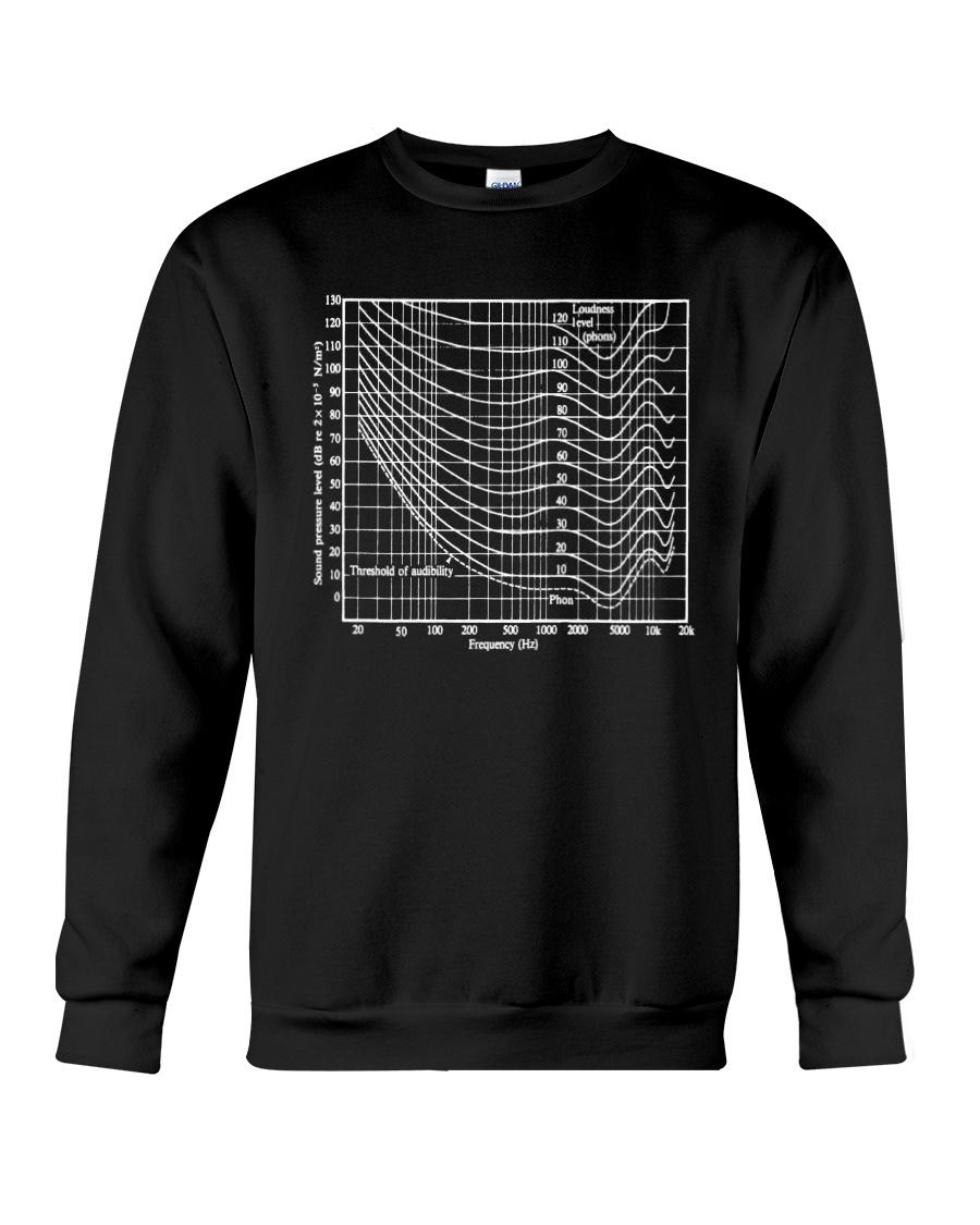 Audio tee Crewneck Sweatshirt