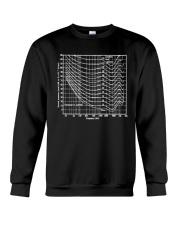 Audio tee Crewneck Sweatshirt front