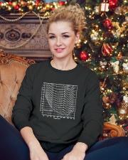 Audio tee Crewneck Sweatshirt lifestyle-holiday-sweater-front-2
