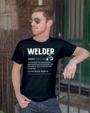 Welder Noun Classic T-Shirt lifestyle-mens-crewneck-front-2