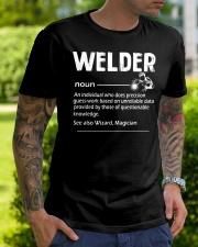 Welder Noun Classic T-Shirt lifestyle-mens-crewneck-front-7
