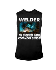 Weld tee Sleeveless Tee tile